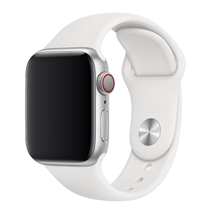 Replacement strap Apple Watch White Sport Band - Regular 40 mm