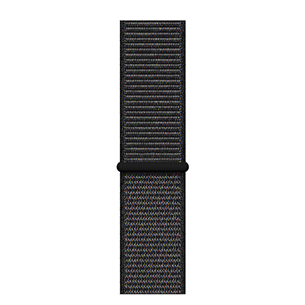 Vahetusrihm Apple Watch Black Sport Loop - XL 44 mm