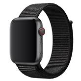 Vahetusrihm Apple Watch Black Sport Loop - Regular 44 mm