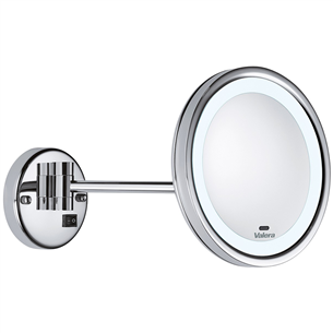 Wall-mounted magnifying mirror Valera OPTIMA Light Smart