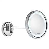 Wall-mounted magnifying mirror Valera OPTIMA Light One