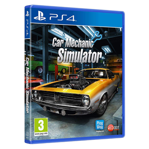 PS4 game Car Mechanic Simulator