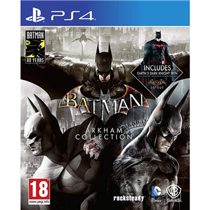 PS4 game Batman: Arkham Collection