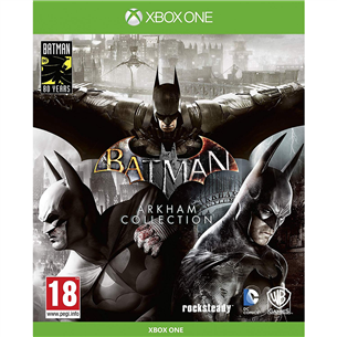 Xbox One game Batman: Arkham Collection