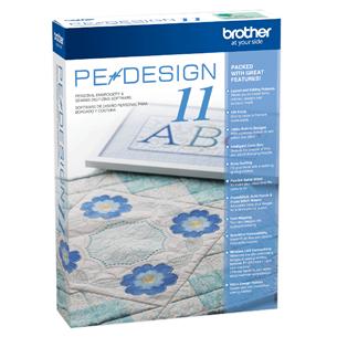 Tikkimistarkvara Brother PE-Design 11