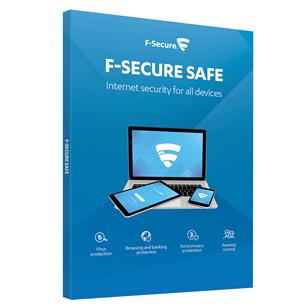 F-Secure SAFE 2 aastat - 3 seadmele
