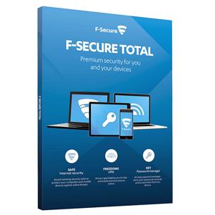 F-Secure TOTAL 2 года - 3 устройства
