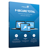 F-Secure TOTAL 2 years - 3 devices
