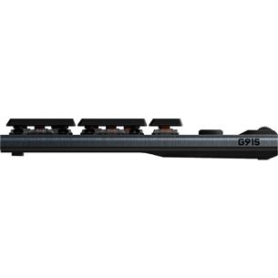 Wireless keyboard Logitech G915 LightSync RGB Tactile (SWE)