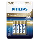 Батарейки Philips LR03M AAA Premium Alkaline (4 шт)