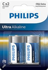 Батарейки Philips LR14E C 2 Ultra Alkaline (2 шт)