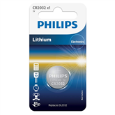 Battery Philips CR2032 3 V Lithium
