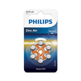 Battery Philips ZA13 1.4 V 6 Zinc Air (PR48) (6 pc)