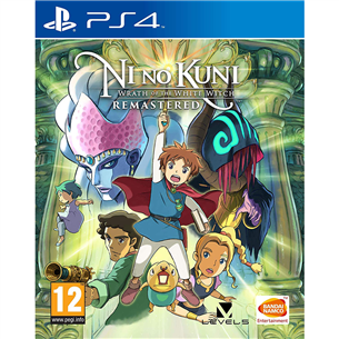 PS4 game Ni No Kuni: Wrath of the White Witch
