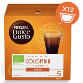 Coffee capsules Nescafe Dolce Gusto Lungo Colombia