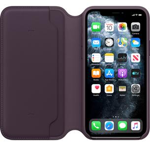Кожаный чехол Folio для Apple iPhone 11 Pro