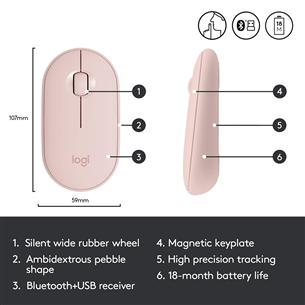 Juhtmevaba hiir Logitech Pebble M350