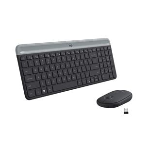 Juhtmevaba klaviatuur + hiir Logitech MK470 Slim Combo (SWE) 920-009200