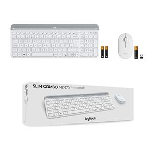 Juhtmevaba klaviatuur + hiir Logitech MK470 Slim Combo (SWE)