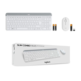 Wireless keyboard + mouse Logitech MK470 Slim Combo (SWE)