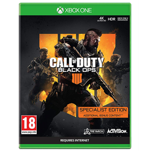 Xbox One mäng Call of Duty Black Ops 4 Specialist Edition