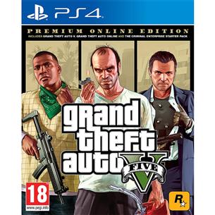 PS4 mäng Grand Theft Auto V: Premium Online Edition
