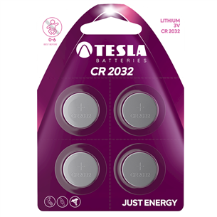 Battery Tesla CR2032 (4 tk)