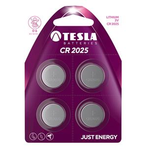 Батарейки Tesla CR2025 (4 шт)