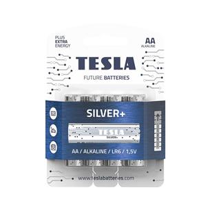4 x Patarei Tesla AA LR06 TESLA-LR06AA4S