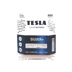 4 x Battery Tesla AAA LR03 TESLA-LR03AAA4S
