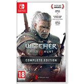 Switch mäng Witcher 3: Wild Hunt