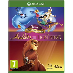 Xbox One mängud Aladdin & The Lion King