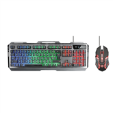 Wired keyboard + mouse Trust GXT 845 Tural Gaming Combo (SWE)