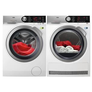 Washing machine + dryer AEG (9 kg + 9 kg)