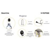 Käsi-aurukeskus SteamOne S-Nomad