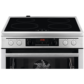 Induction hob with electric oven AEG (60 cm)