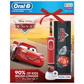 Электрическая зубная щетка Braun Oral-B Cars + футляр