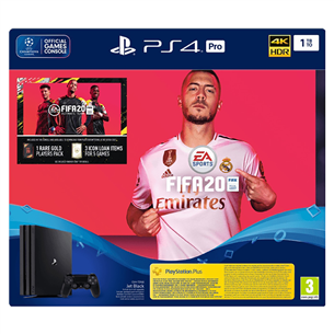 Mängukonsool Sony PlayStation 4 Pro (1 TB) + FIFA 20