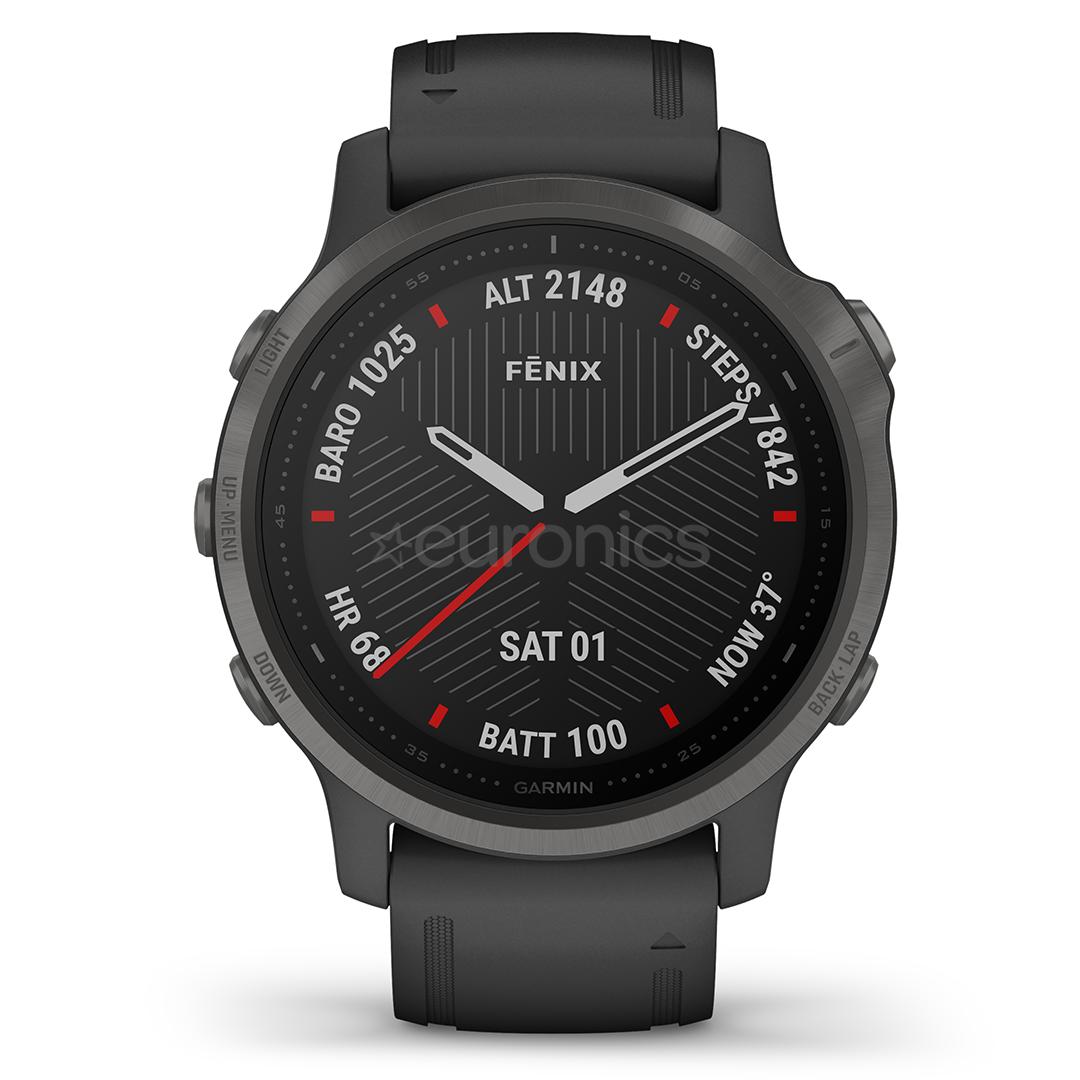 Мультиспортивные часы Garmin fēnix 6s PRO