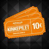 Apollo Кино 10€ подарочная карта
