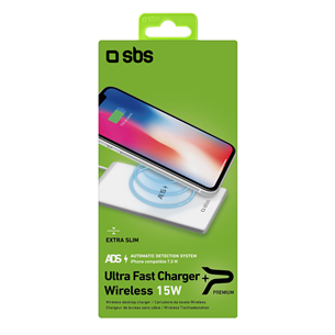 Wireless Qi charger SBS (15 W)