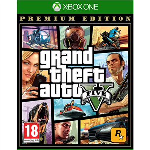 Xbox One mäng Grand Theft Auto V: Premium Online Edition 5026555359993