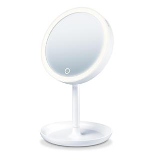 Valgustusega peegel + magnetiga peegel Beurer