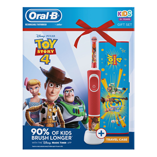 Electric toothbrush Braun Oral-B ToyStory + travel case D100TOYSTORYGP