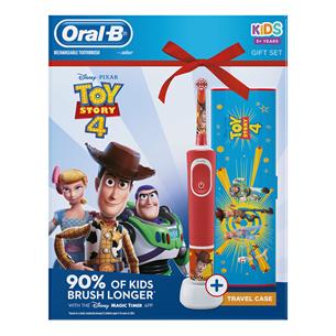 Электрическая зубная щетка Braun Oral-B ToyStory + футляр D100TOYSTORYGP
