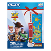 Electric toothbrush Braun Oral-B ToyStory + travel case