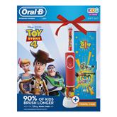 Электрическая зубная щетка Oral-B ToyStory + футляр, Braun