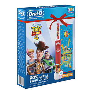 Электрическая зубная щетка Braun Oral-B ToyStory + футляр