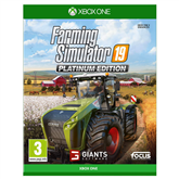 Xbox One game Farming Simulator 19 Platinum Edition