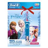 Электрическая зубная щетка Oral-B Frozen + стакан, Braun